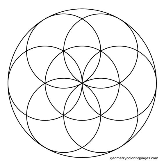 sacred geometry coloring pages - photo #29