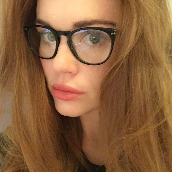 Holland Roden - No filters for these frames! Loving my new look from @glassesusa (Muse M6443)! A new pair of glasses anyone?