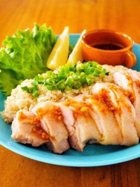 【簡単・時短】レンジで3分!シンガポールチキンライス(海南鶏飯)の作り方