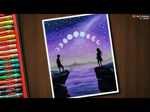 Art Arena Drawing Moonlight
