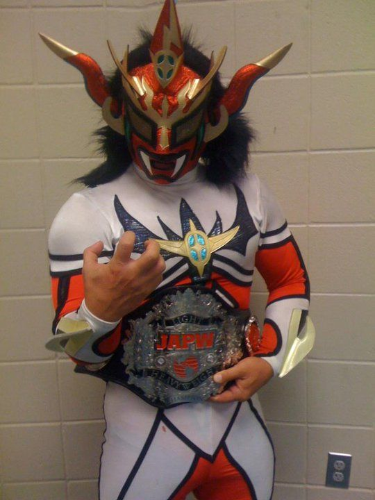 """Jushin """"Thunder"""" Liger: Japanese wrestling legend. One of the most decorated Jr. Heavyweight in the history of professional wrestling."""