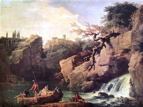 Joseph Vernet, F. Roma 1749