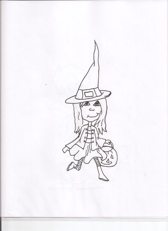 Little witch puppet from the book Spooky the Ghost Dog. Color and cut her out then glue a popsicle stick to the back to make a stick puppet. Goes well with Common Core Standards - retelling familiar stories, identifying characters, and describing major events in the story.