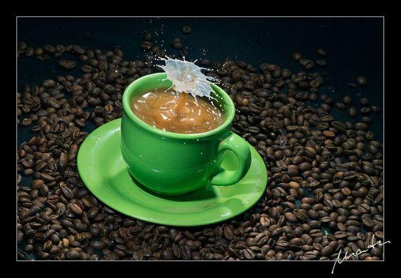 Coffee with milk, por Mario Tumm
