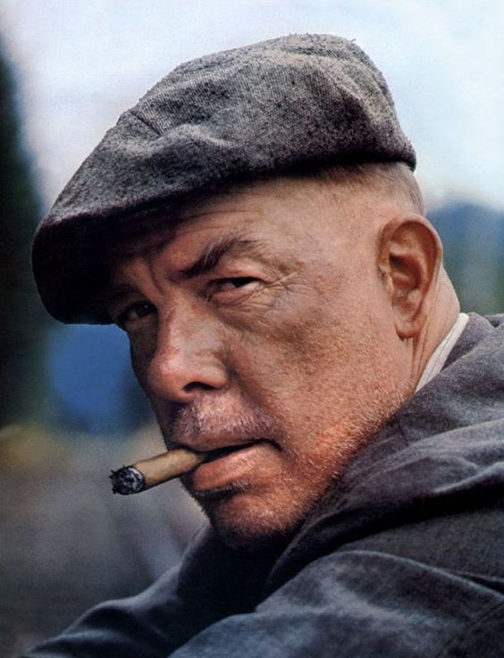 Lee Marvin (February 19, 1924 - August 29, 1987) American actor (won an Academy Award for best actor in 'Cat Ballou').
