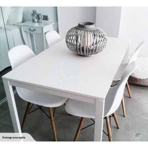 Melltorp Table Blanc 125x75 Cm Ikea Table Salle A Manger