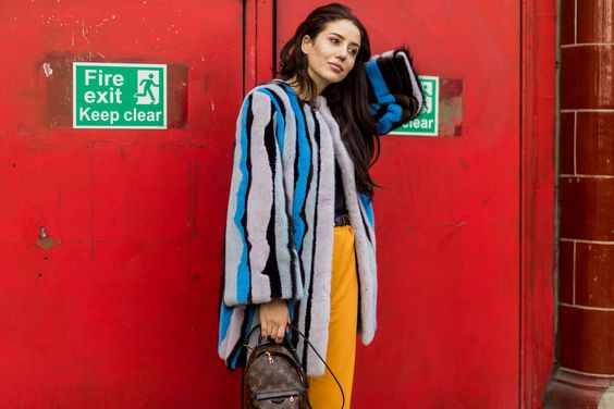 The Best Street Style At London Fashion Week AW17+#refinery29uk: