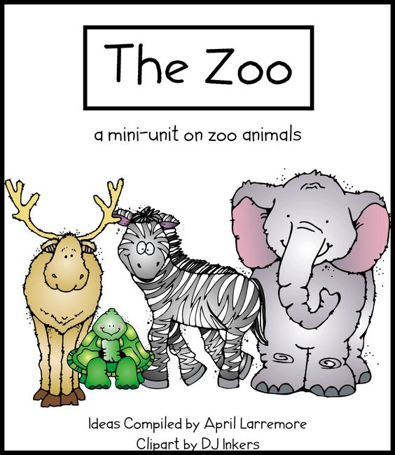 Zoo and Animals Preschool Activities and Printables
