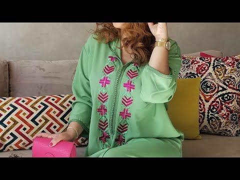موديلات جلابيات 2020 اخر ما كاين في الموضة لشهر رمضان تشكيلة واعرة للمحجبات والغير المحجبات اكتشفي Youtube Fashion Women Kimono Top