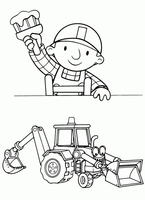 Bob The Builder Color Pages