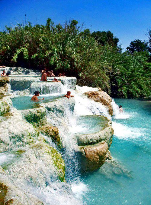 Natural Jacuzzi in Saturnia, Tuscany