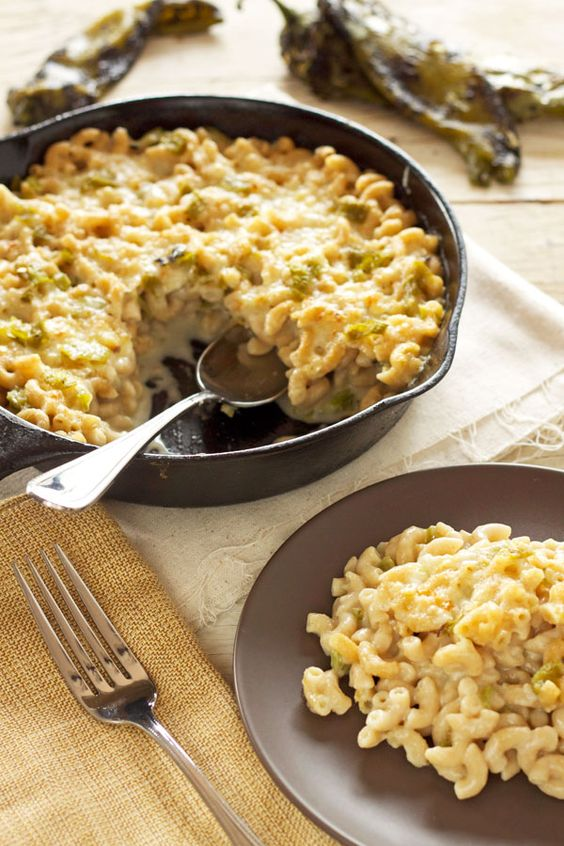 Chile Mac and Cheese | Recipe Runner | Roasted Hatch green chiles ...