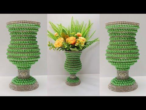 Ide Kreatif Dari Botol Bekas Vas Bunga Mewah Dari Botol Bekas