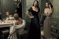 Film Noir : Vanity Fair 2007 | Sharon Stone, Anjelica Huston, Diane Lane