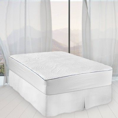 Queen Cool Luxury Mattress Protector Tempur Pedic White