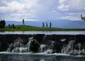 The Pond and the Golfers. - Kelowna