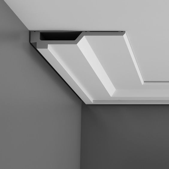 Ceiling detail detail molding interior details - Contemporary trim moulding ...