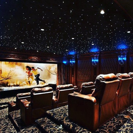 New The 10 All Time Best Home Decor Right Now Ideas By Mary Weeks Mini Theater Fiber Optics Home Theater Setup Home Theater Design Home Theater Decor