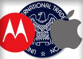 In a new ruling today, the U.S. International Trade Commission said Apple's violated one of Motorola's patents in its iPhones and iPads.