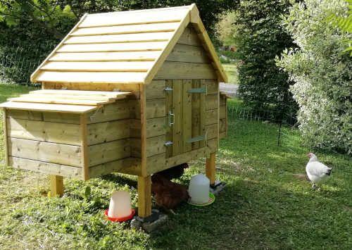 Plan Poulailler 15 Poulaillers A Construire Soi Meme Plans En Pdf Plan Poulailler Fabriquer Un Poulailler Poulailler