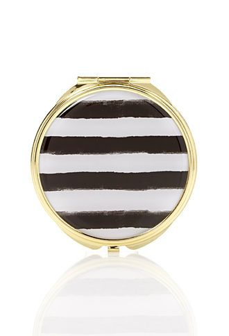 Striped Mirror Compact | FOREVER 21 - 1000084920