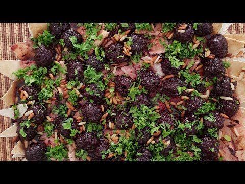للمغتربين كبفية تحضير لحمه بكرز واستعمال الكرز العادي بديل كرز الوشنه الأصلي لمدام دلال حناوي Youtube Grapes Brussel Sprout The Creator