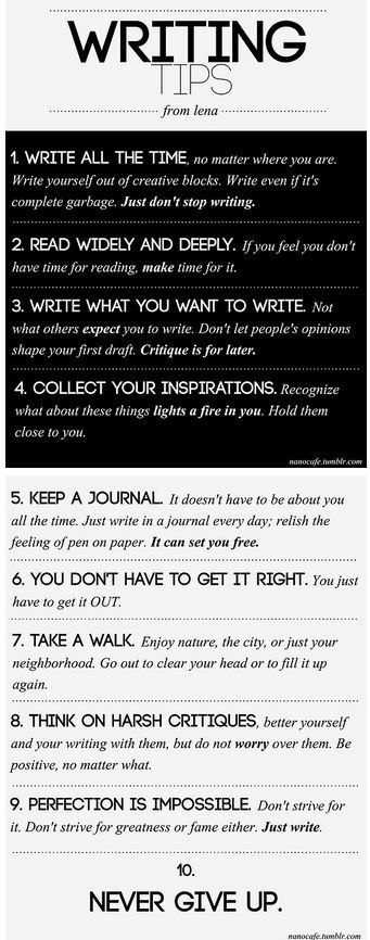 Writing Tips: