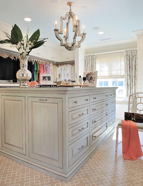 A Glamorous Closet Designed By Gray Walker Interiors Includes Niermann  Weeks Monaco Chandelier. Niermannweeks.