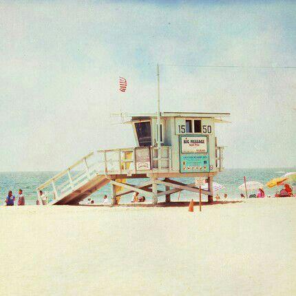 Spent many days at the Beach all my life...love. Santa Monica, California.
