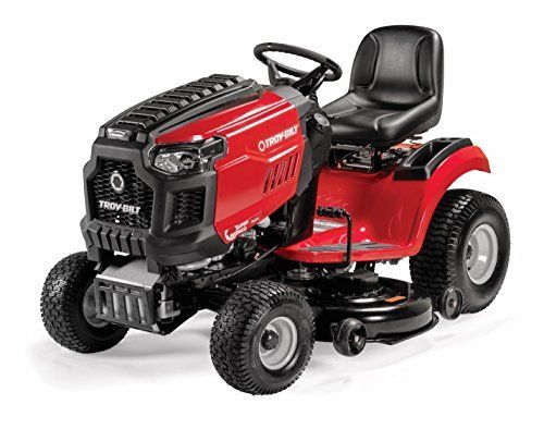 Troy Bilt Super Bronco 50 Xp 679cc Engine Lawn Tractor Review With Images Lawn Mower Riding Lawn Mowers Lawn Tractor