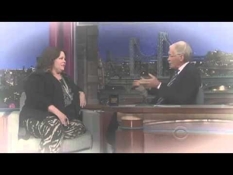 Melissa McCarthy on David Letterman June 24, 2013 - http://hagsharlotsheroines.com/?p=12380