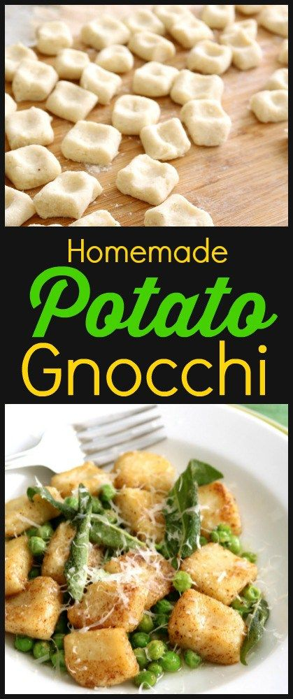 Potato flour recipes gnocchi
