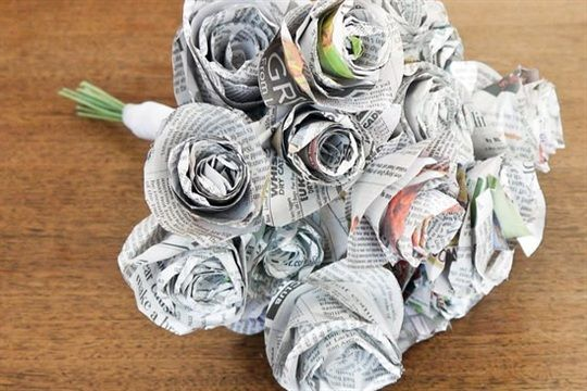 Carnation Wedding Bouquet - Craftsmile