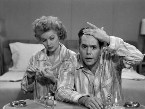 RICKY THINKS HE'S GETTING BALD ORIGINALLY AIRED 06/02/52 SEASON 1 EPISODE 34