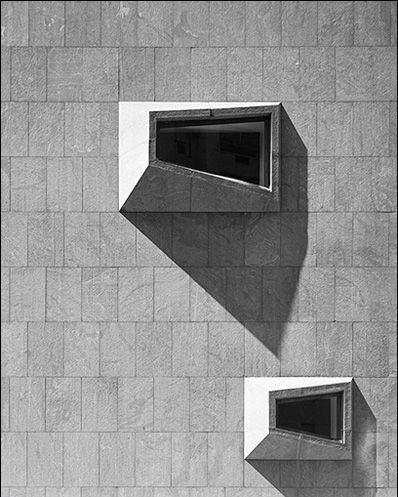 The Whitney Museum, New York, by Marcel Breuer.
