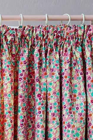 Buy Ditsy Floral Pencil Pleat Blackout Curtains from the Next UK ...