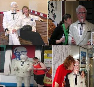 Colonel Sanders statue  | Forgive me Harland for I Have Sinned