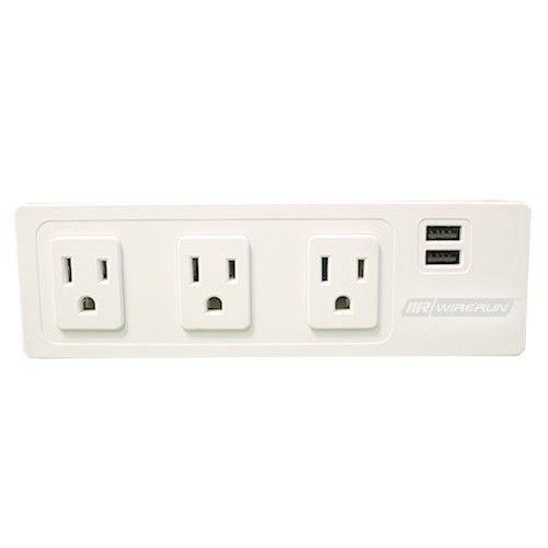 Recessed Surface Mounted Power Strip Power Outlet Outlet Power