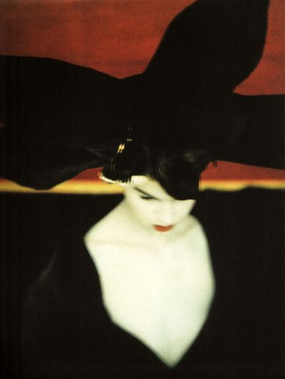 Photographed by Sarah Moon for Yohji Yamamoto.: