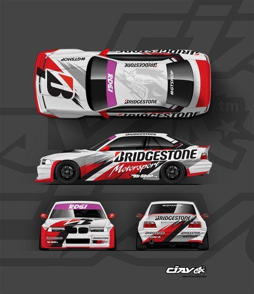 Wall Vk Race Car Wrap Ideas Pinterest
