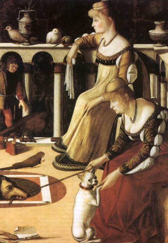 carpaccio le due dame museo correr venezia