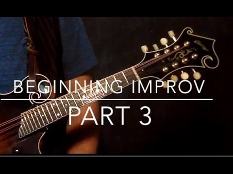 Mandolin Lesson: Beginning Improv. 3 - YouTube