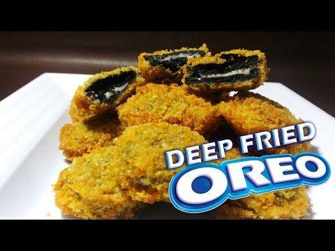 Cara Membuat Oreo Goreng Youtube Kue Oreo Makanan Makanan Jalanan