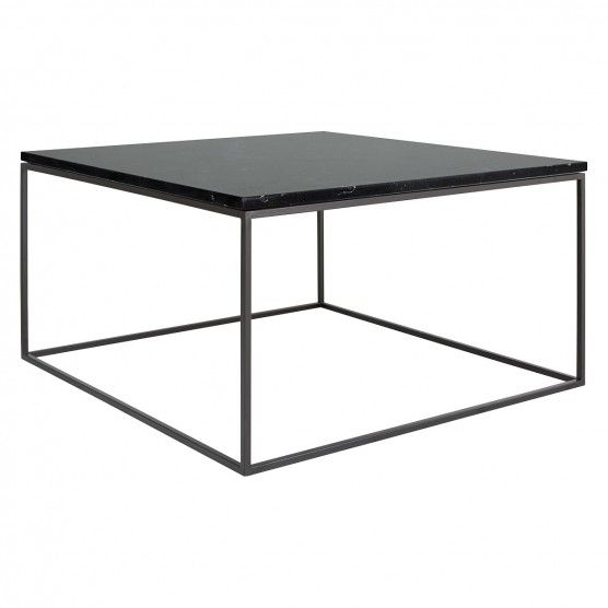 Nestor Black Marble Square Coffee Table On A Metal Base Buy Now At Habitat Uk Coffee Table Coffee Table Square Metal Coffee Table