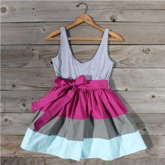 Eddie Colorblock Dress...