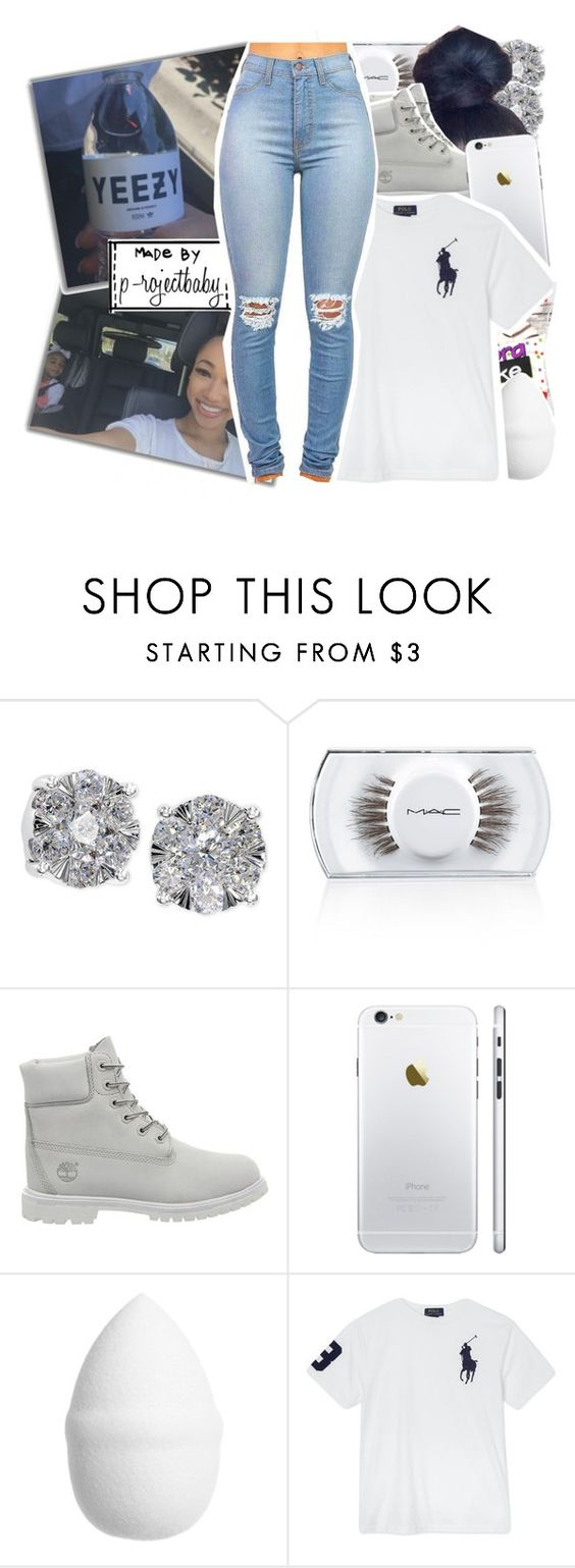 """« baby you a winner not a quitter »"" by p-rojectbaby ❤ liked on Polyvore featuring Effy Jewelry, MAC Cosmetics, Timberland, H&M and Ralph Lauren"