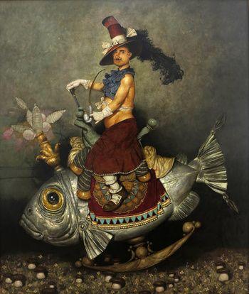 """""""Fish Rider"""" / """"Balık Sürücü"""" 2016 by Daron Mouradian"""