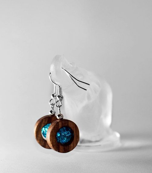 new dimension of wooden jewellery  rounded by KajzarsWoodWork, €12.00