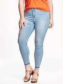 Rockstar Plus-Sized High-Rise Skinny Jeans