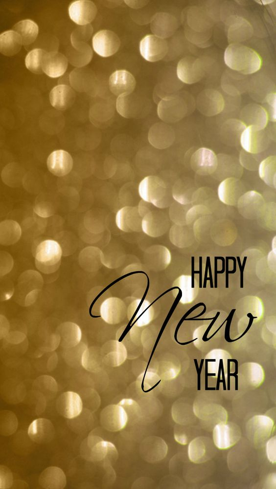 Happy New Year iPhone 4 and 5 Wallpaper: